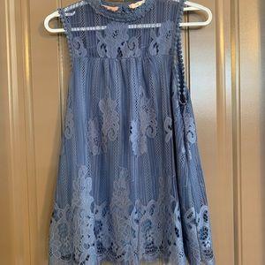Blue Lace Blouse Boutique